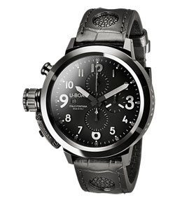 U-Boat Flightdeck Black Ceramic Shiny